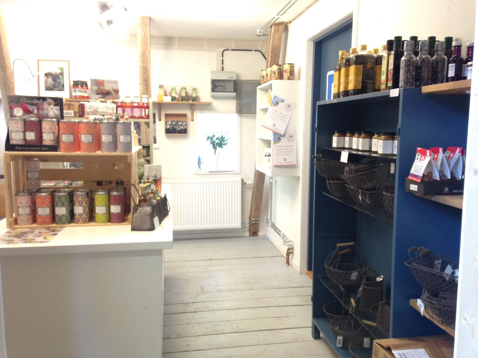 Farm shop in Topperyd