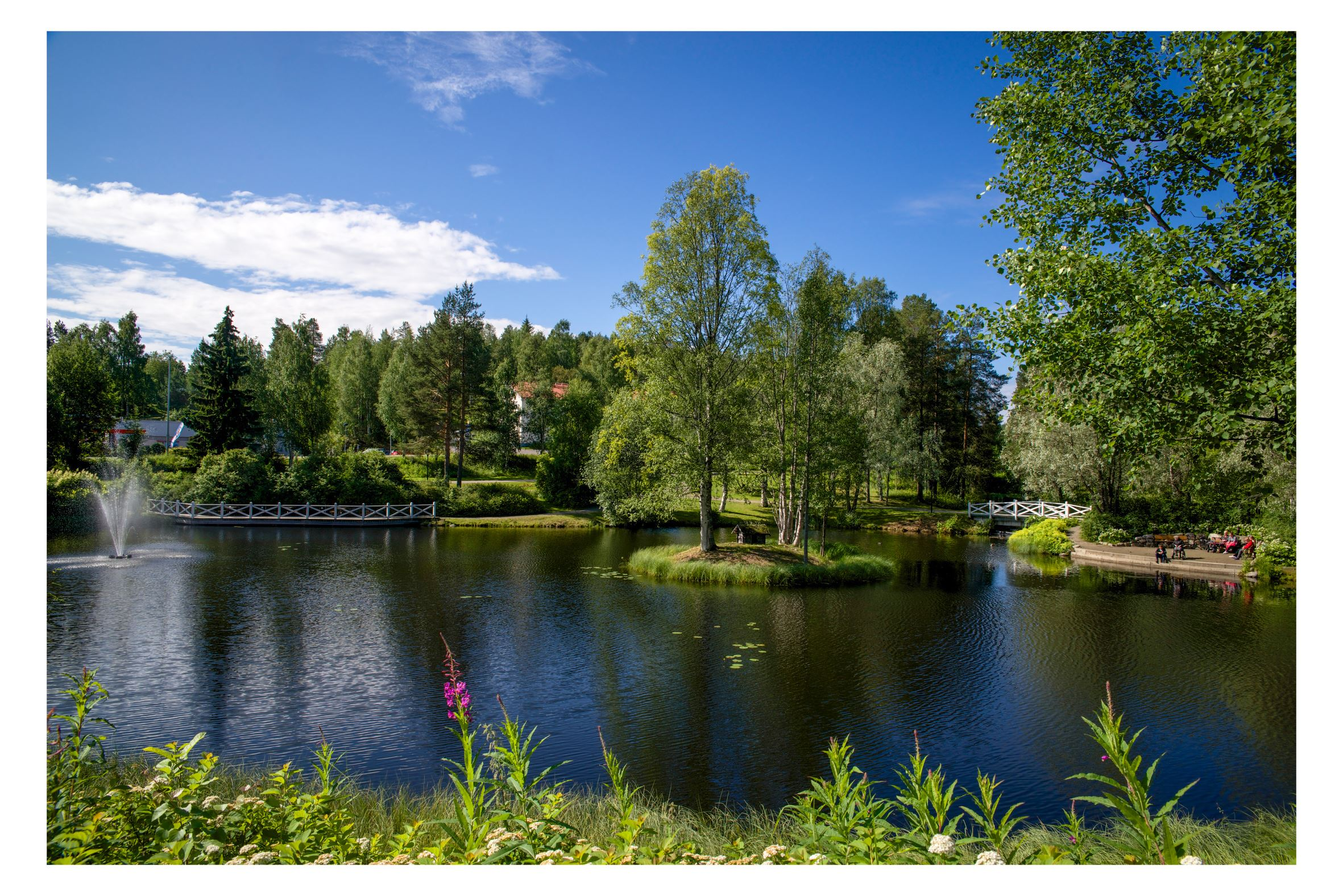Ulla Sjöberg, Walk and hike in Lycksele's parks and closeby nature