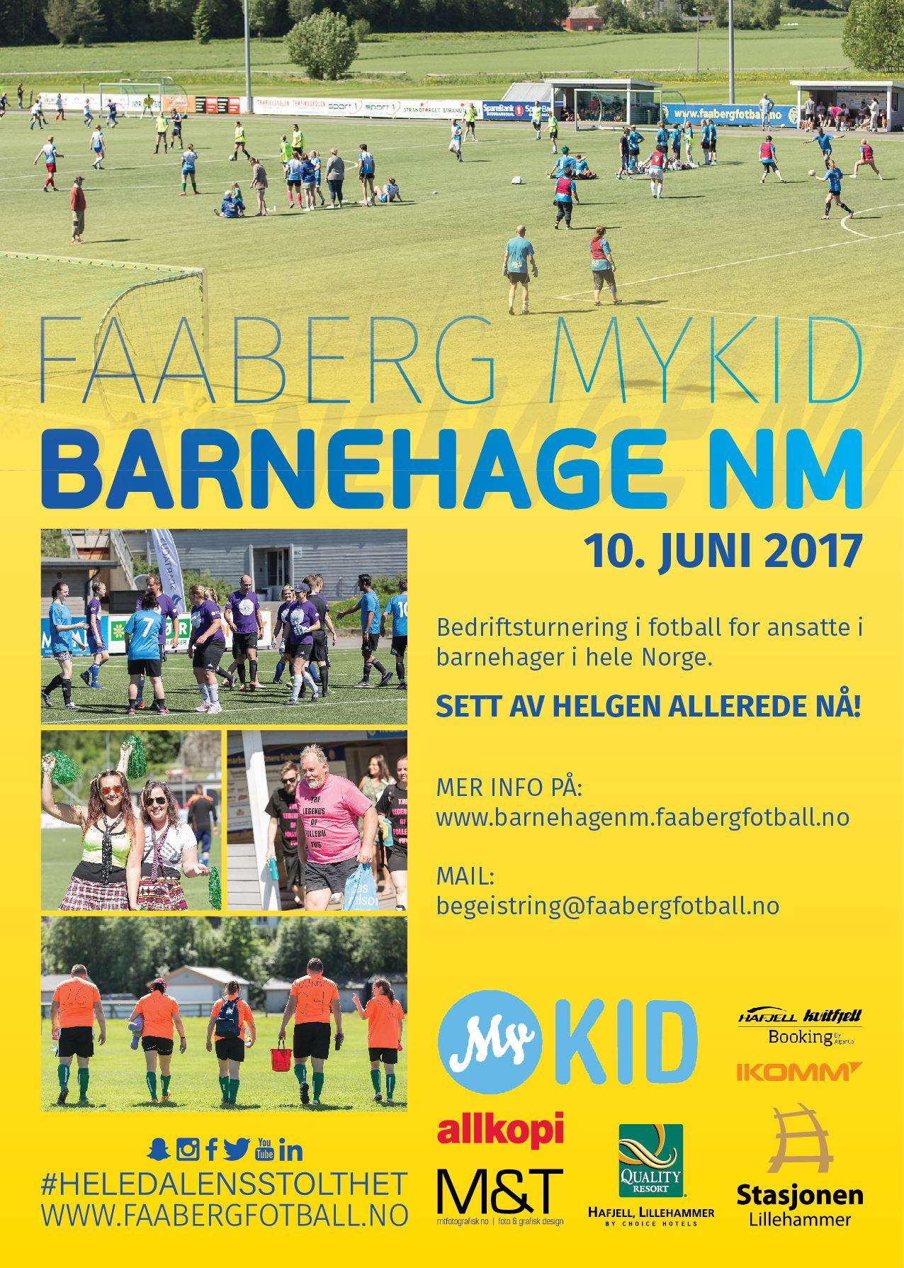 NM fotball for barnehager
