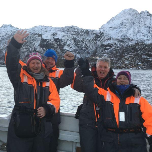 2-Dagers Senja pakkereise - Hvalforskningssafari og Nordlys - Wild Seas