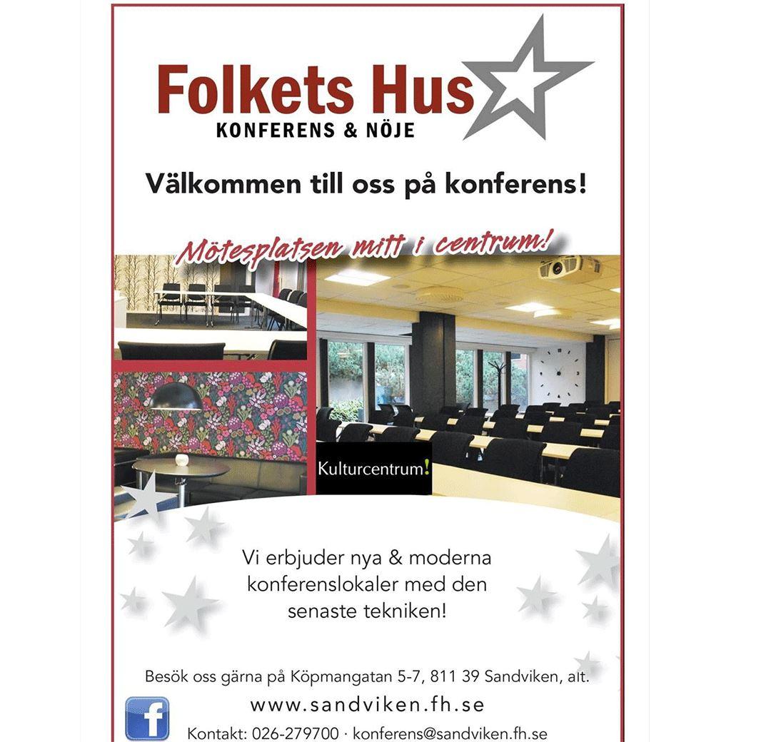 Folkets Hus - Sandviken Konferens Möten