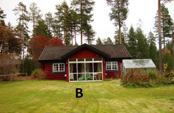 Private cabins and rooms M79A Säs, Mora