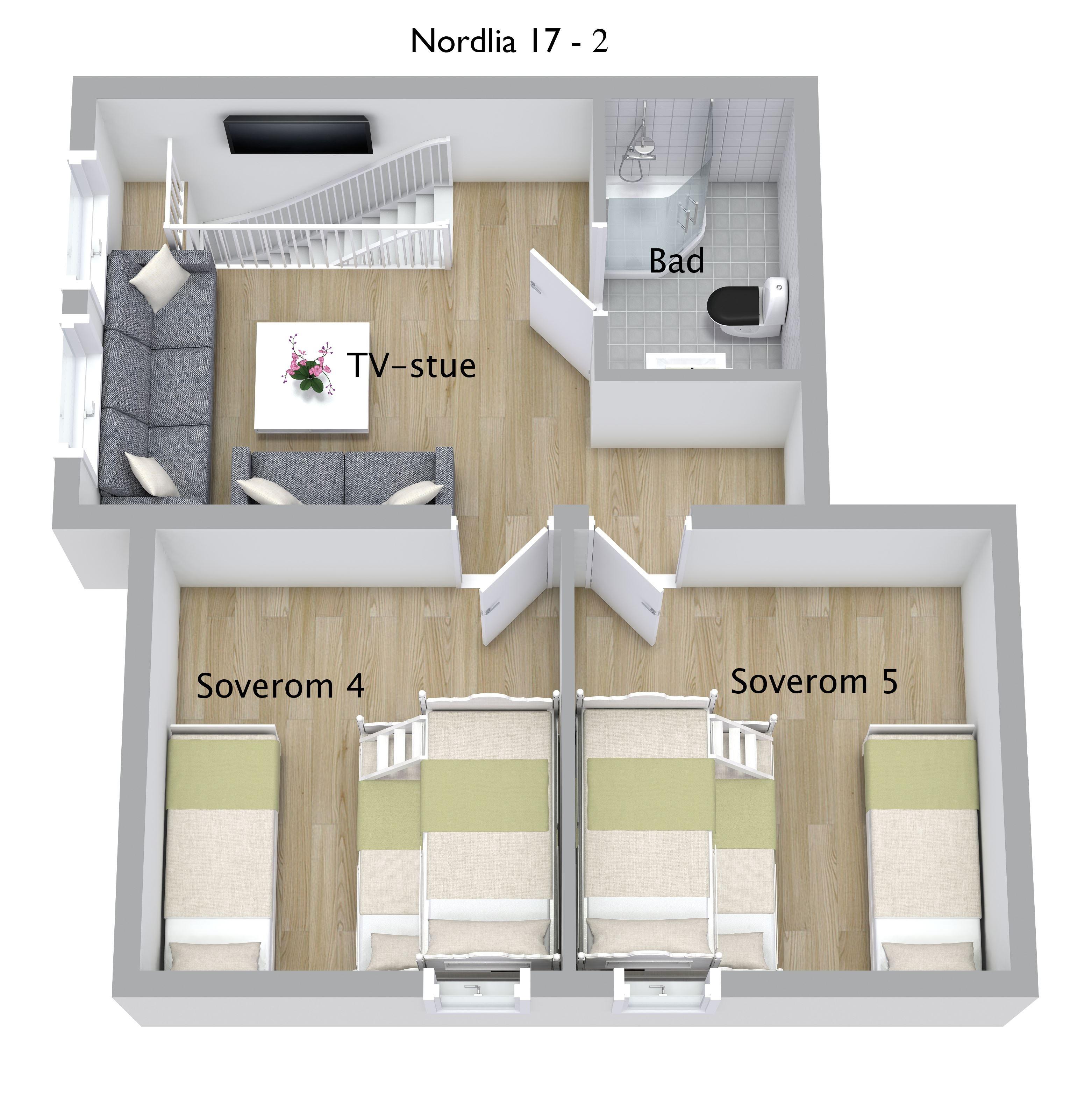 Solsiden storhytter - Nordlia nr. 17