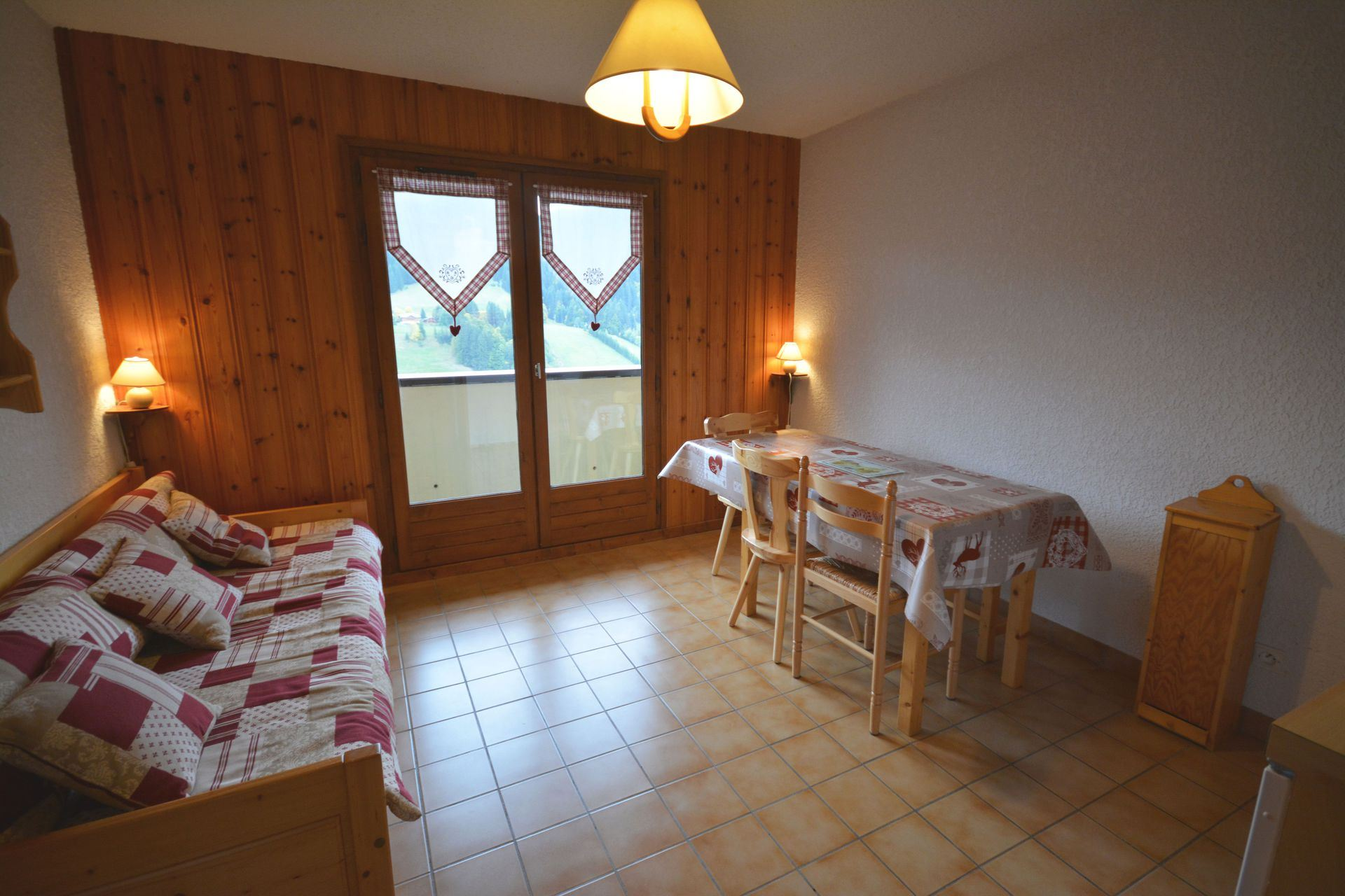 Chantemerle C9 - AO 2143 - 2 rooms + cabine (Not classified) - 5 people - 26m²