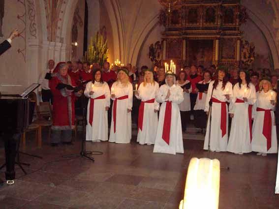 Luciakonsert med Sölvesborgs Körsällskap