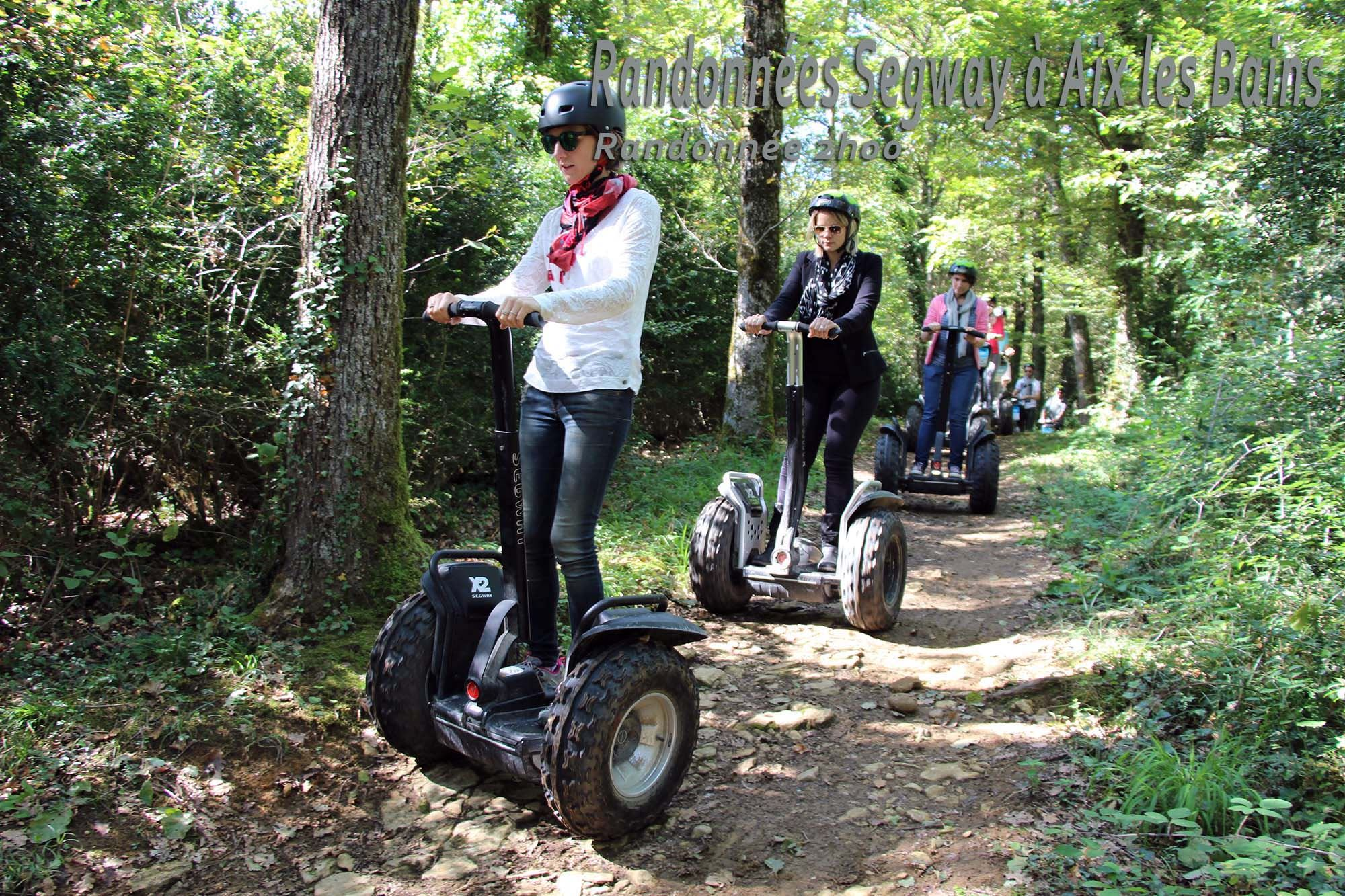 Week end Fascinant - Segway - Lac Saint André