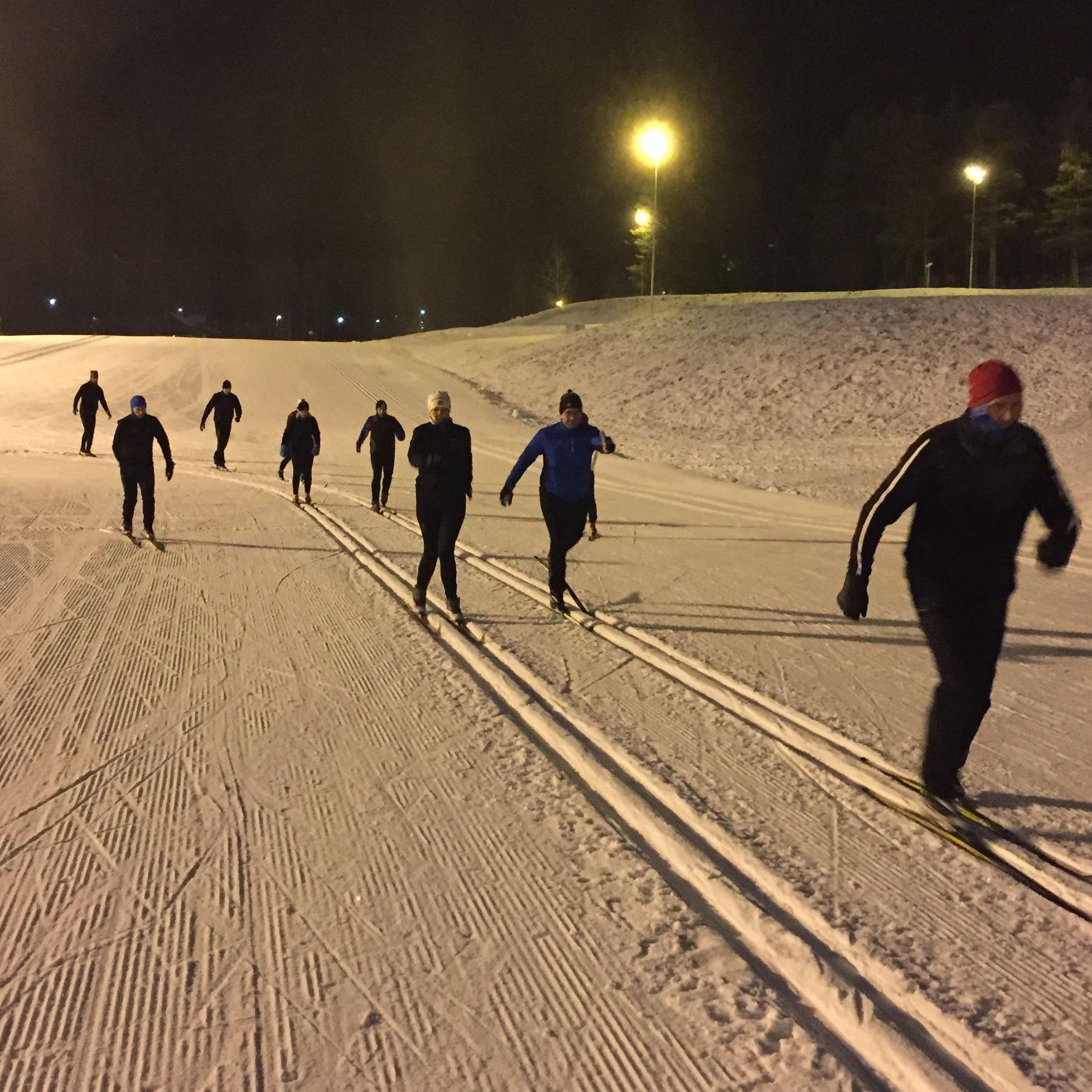 Vinterns Träningsgrupp med Tynell Activity 2017