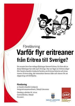 Föreläsning: Varför flyr eritreaner från Eritrea till Sverige?