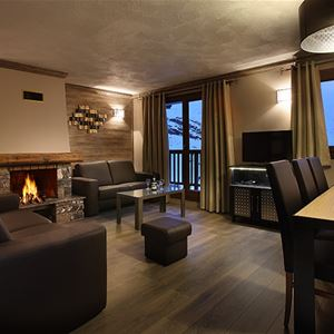 RESIDENCE CHALET DES NEIGES HERMINE****