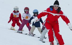 1st ski Formula 6 mornings: ski lessons + ski passes, for level beginners to 2nd star