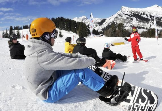 Stage de snowboard 6 matins à partir de 8 ans (Les Menuires uniquement)