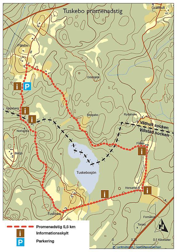 Tuskebo walking trail