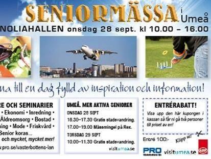 Seniormässa Umeå