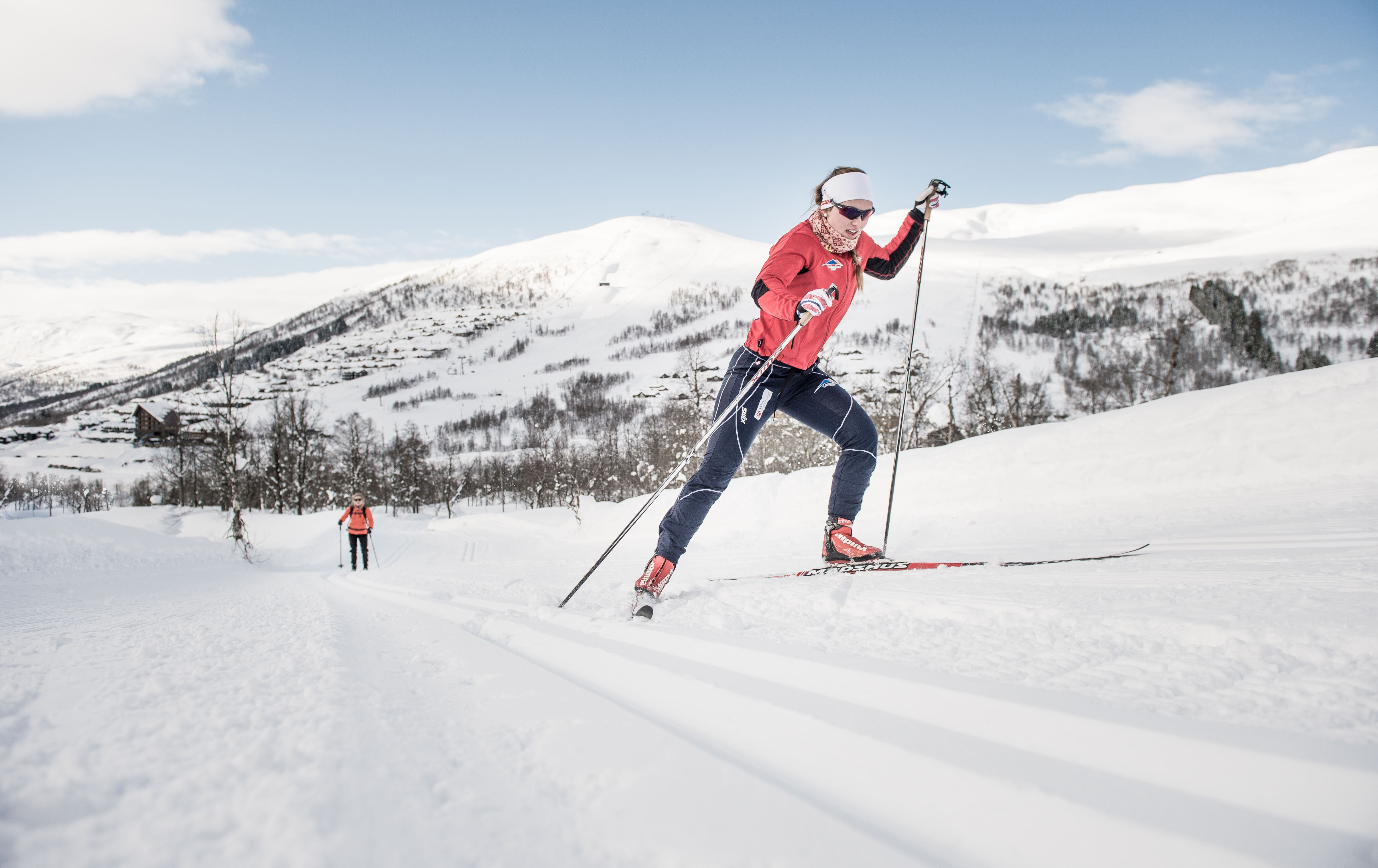 Cross country skiing courses