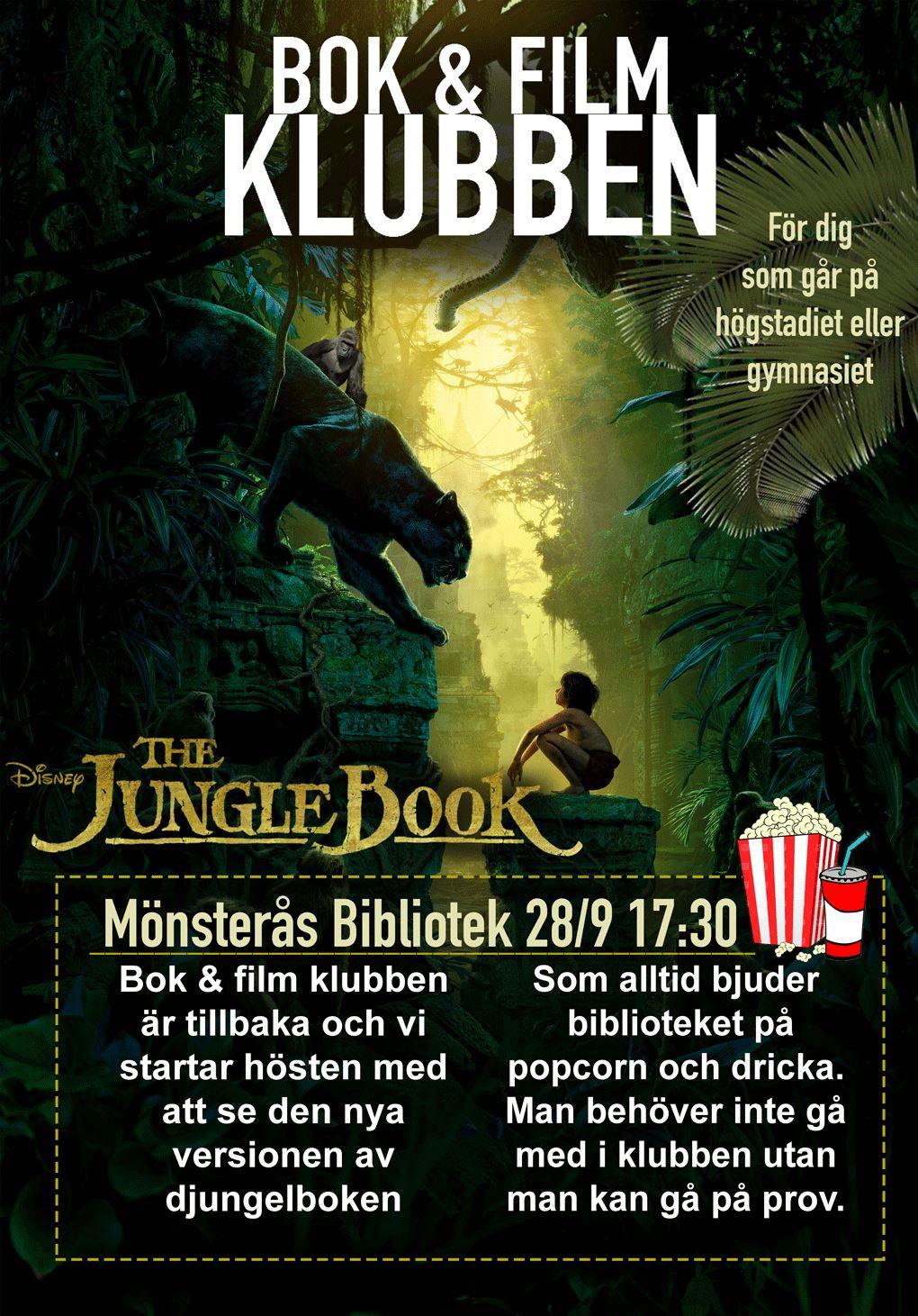 Bok- och filmklubben på Mönsterås bibliotek