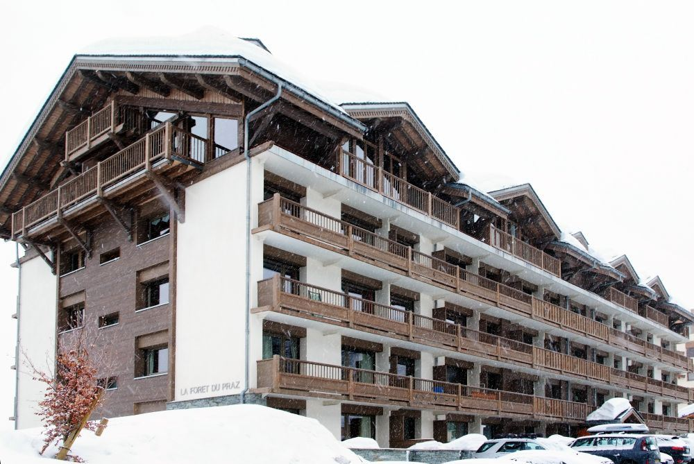 3 rooms 6 people ski-in ski-out / FORET DU PRAZ 405 (mountain of charm)