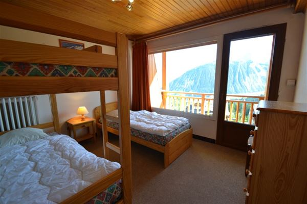3 rooms 6 people ski-in ski-out / NOGENTIL A309 (Mountain)