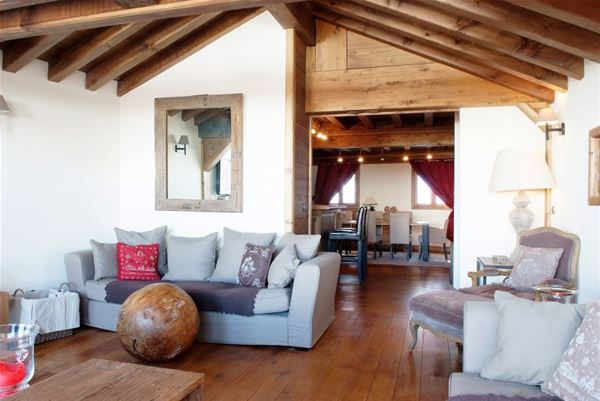 6 rooms 10 people / CHALET PROSPER (mountain of charm)
