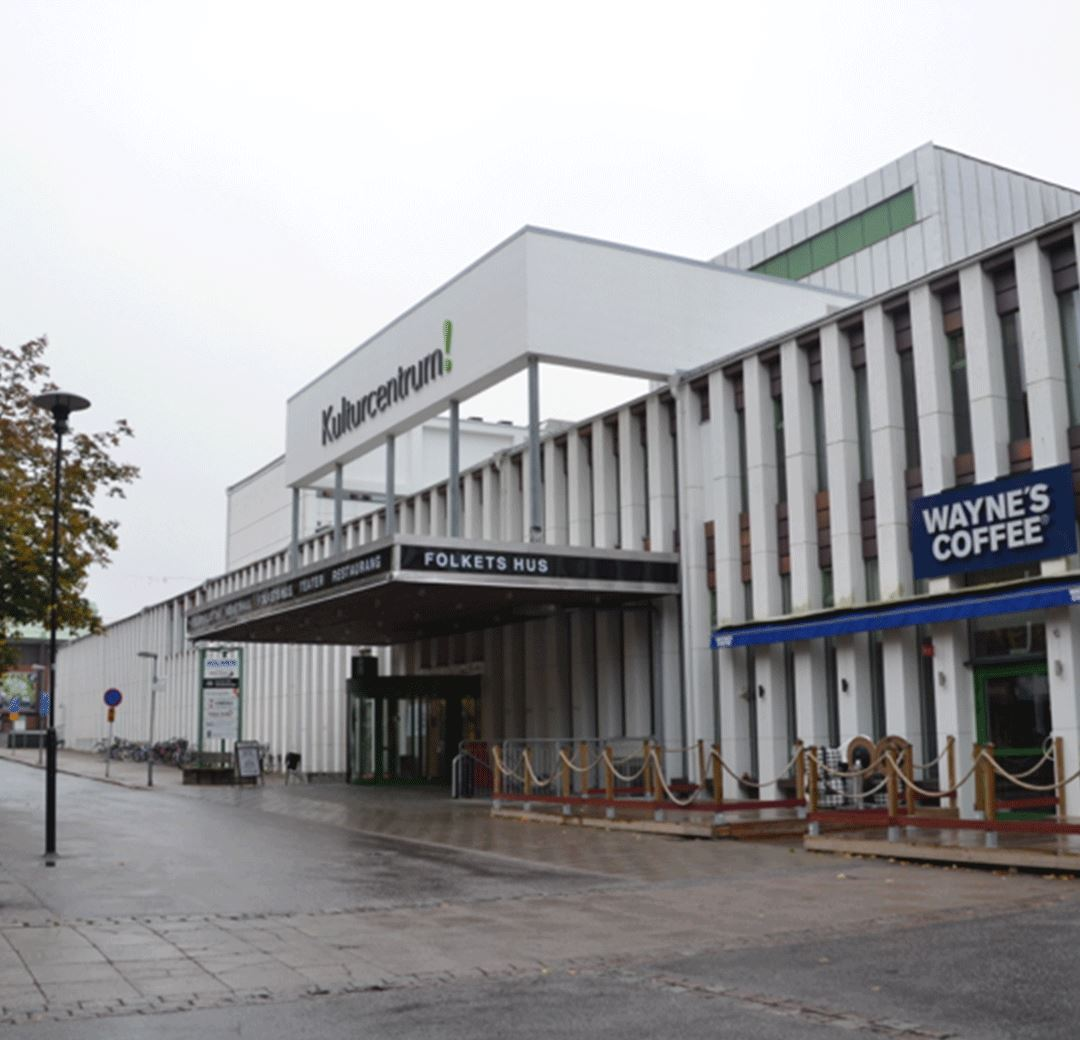 Kulturcentrum/Folkbiblioteket