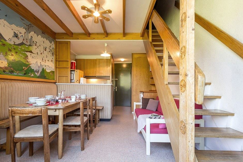 3 Rooms 7 Pers ski-in ski-out / CARON 107