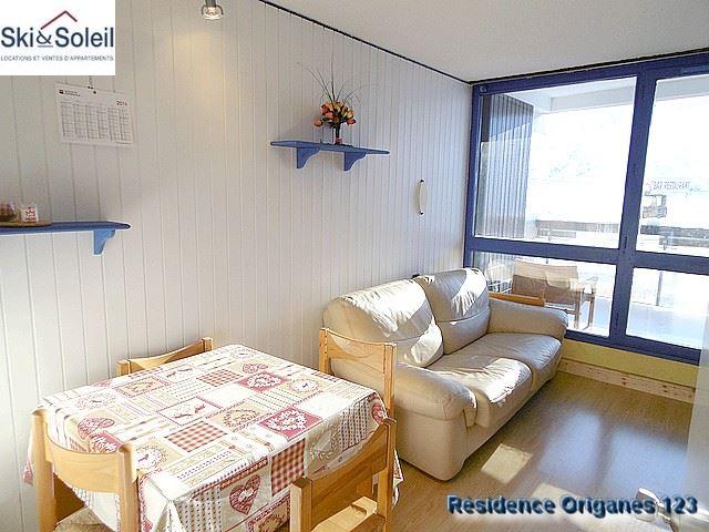 Studio cabine 4 Pers skis aux pieds / ORIGANES 123