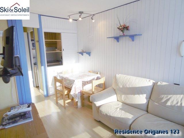 Studio cabin 4 Pers ski-in ski-out / ORIGANES 123