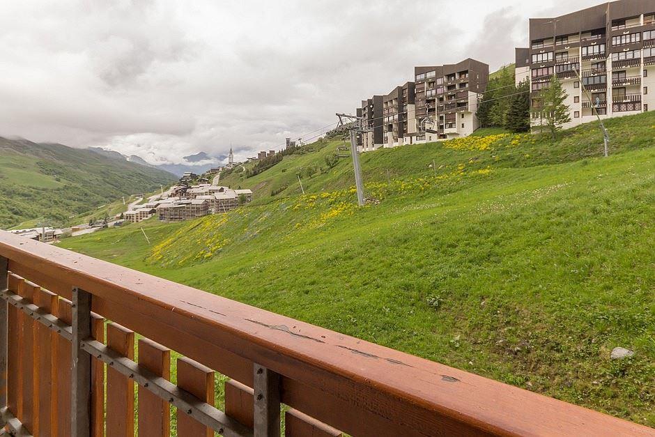 4 Pers Studio ski-in ski-out / SKI SOLEIL I 1102