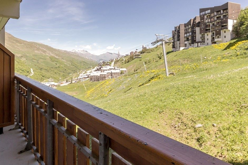 4 Pers Studio ski-in ski-out / SKI SOLEIL I 1103