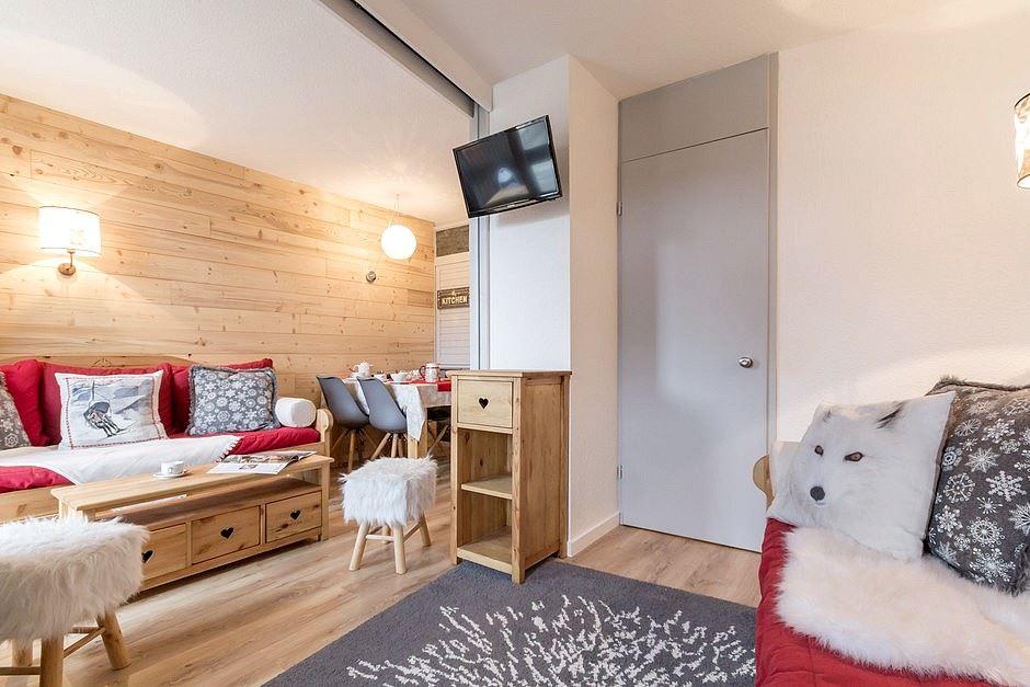 2 Room 4 Pers ski-in ski-out / SOLDANELLES A 204