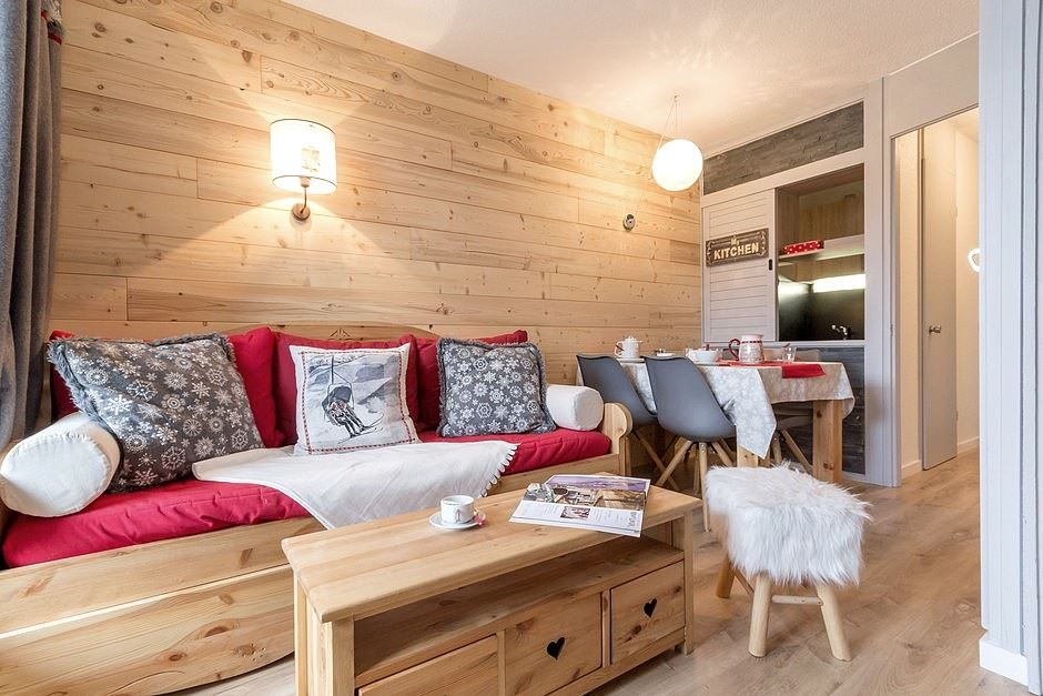2 Room 4 Pers ski-in ski-out / SOLDANELLES A 204