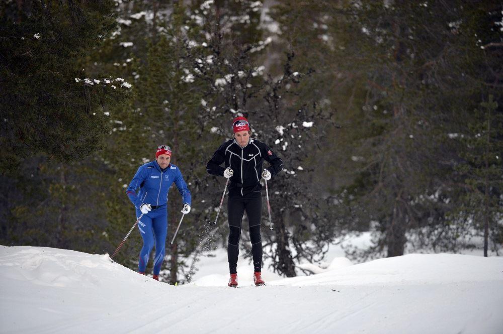 Vasaloppsläger barmark med Erik Wickström