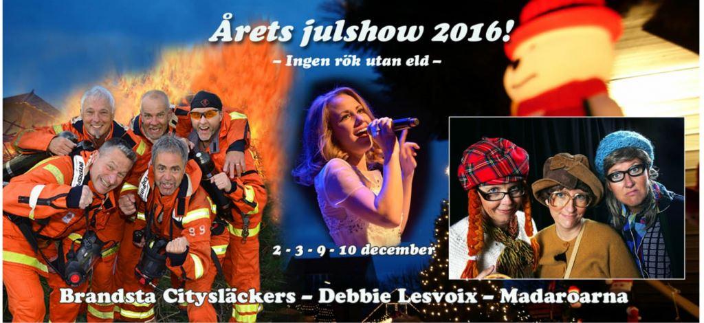 Christmas dinner & Christmas Show in Grevieparken