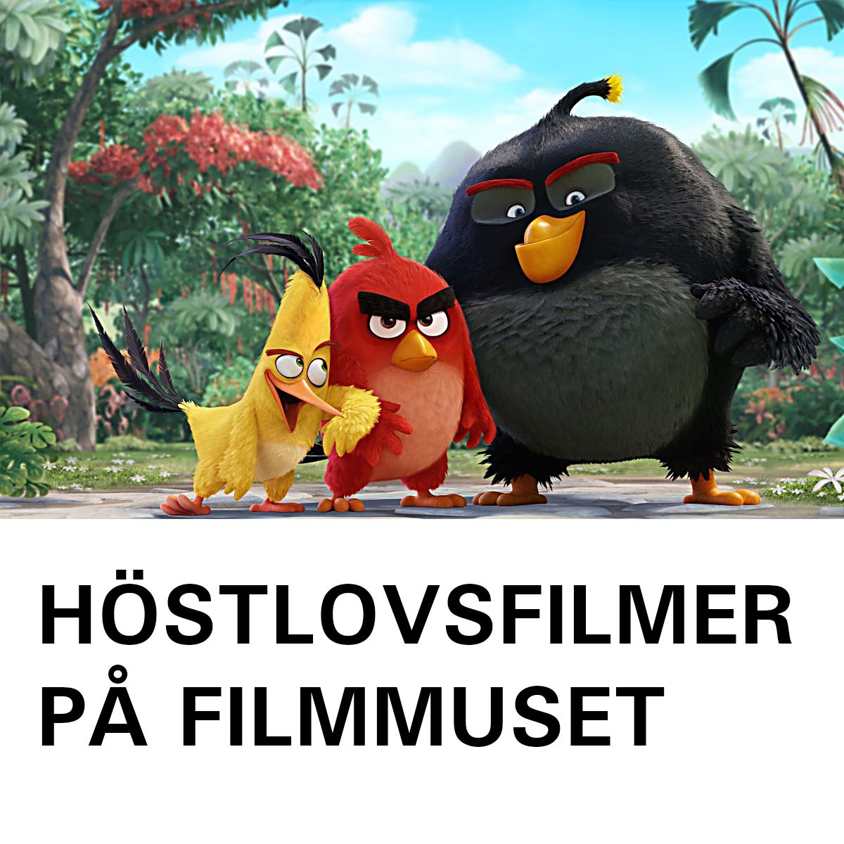 Höstlovsfilmer på Filmmuseet