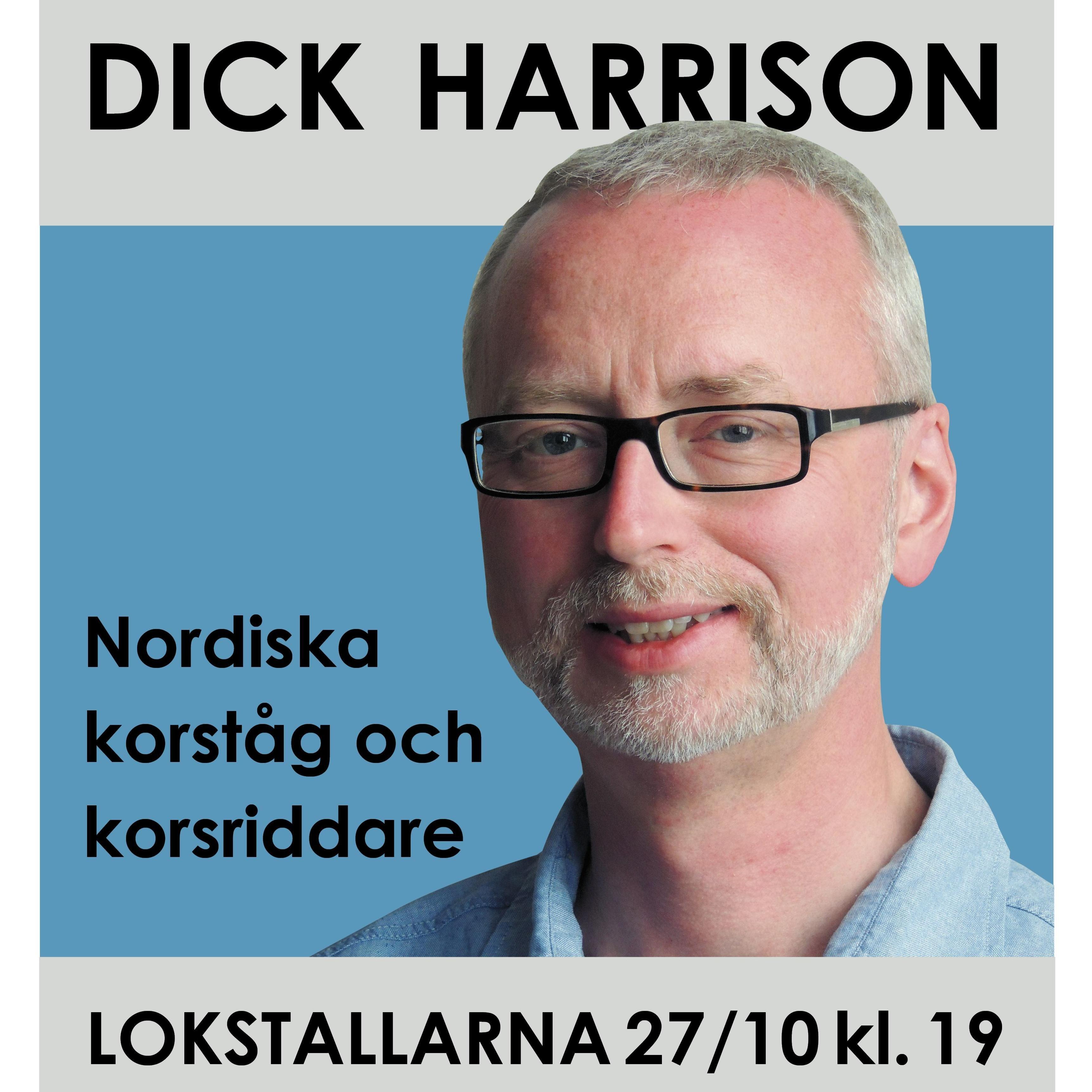 Föreläsning med Dick Harrison