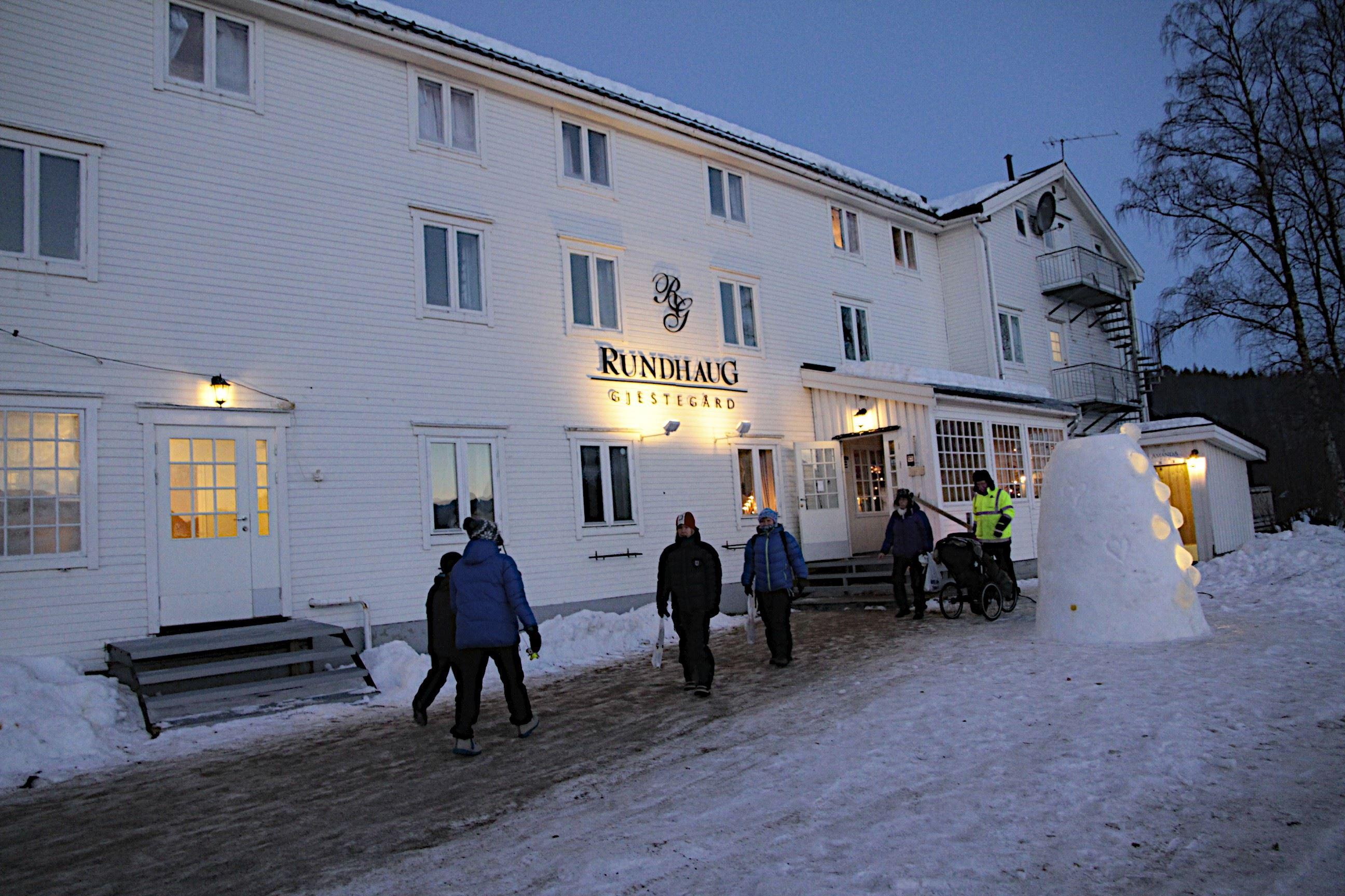Snowman - Stay at Rundhaug Gjestegård – Destination Snowman
