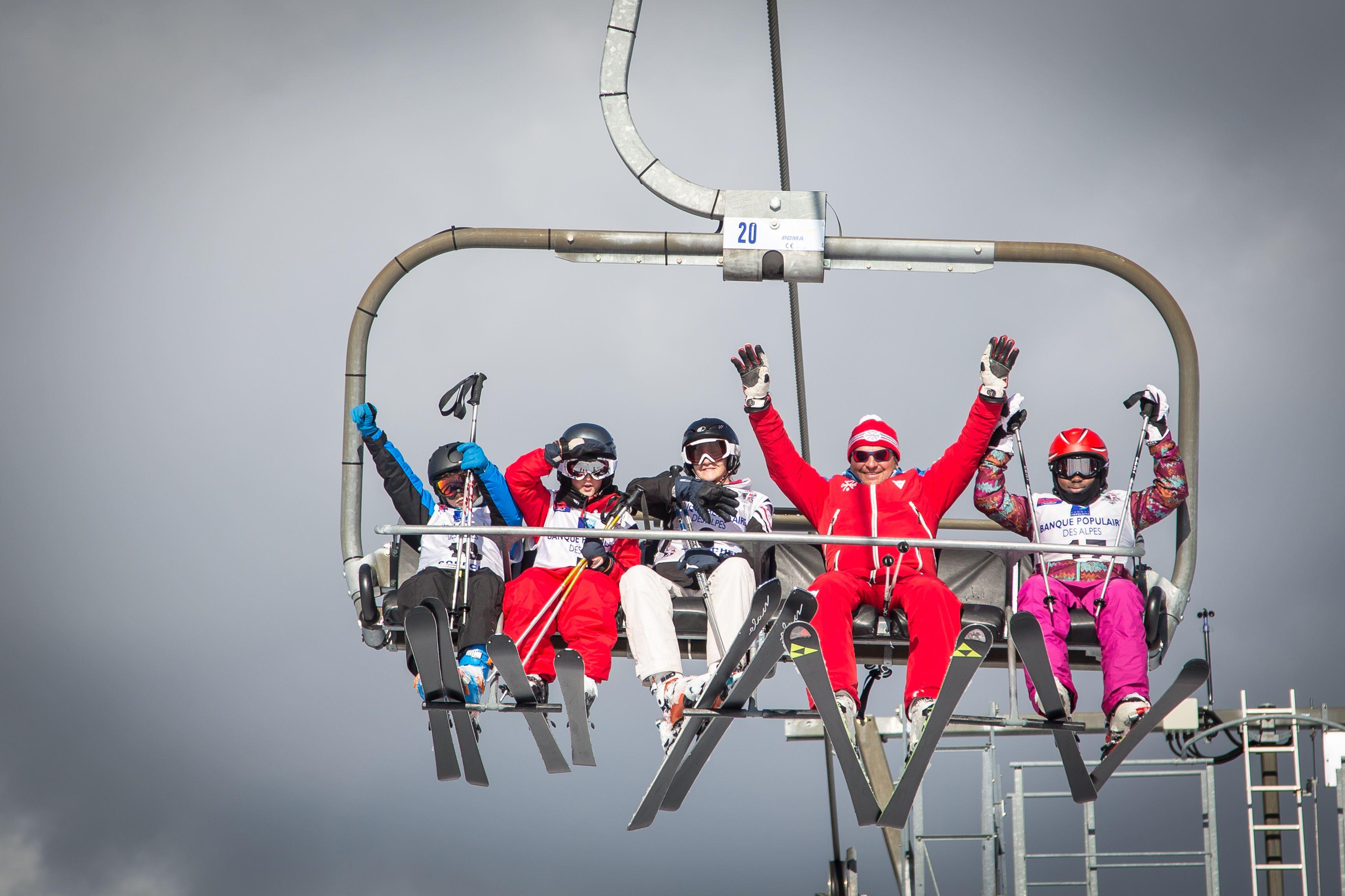 ESF 1550 : Cours de ski collectifs Enfants de 3 à 12 ans