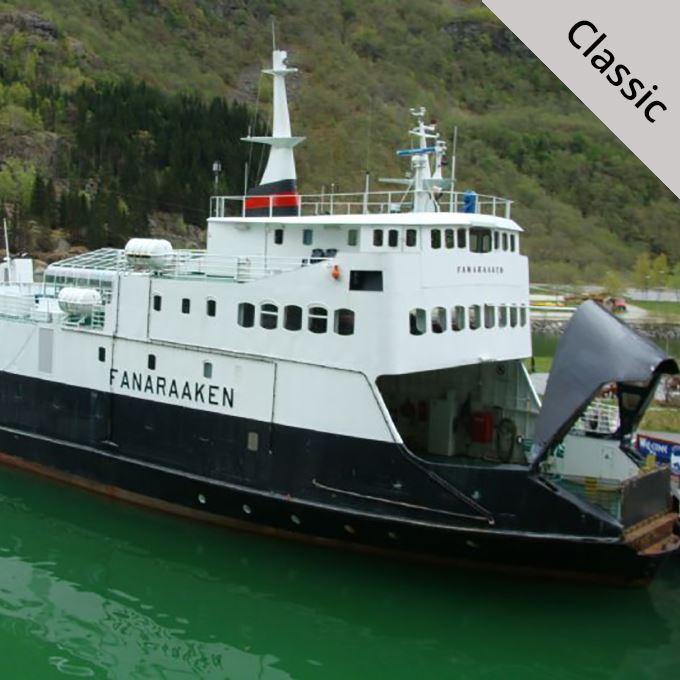 Fjordcruise Nærøyfjord B2B 2018