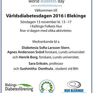 Världsdiabetesdagen
