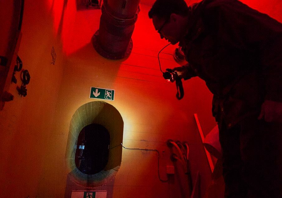 Aroybukt NATO base Experience