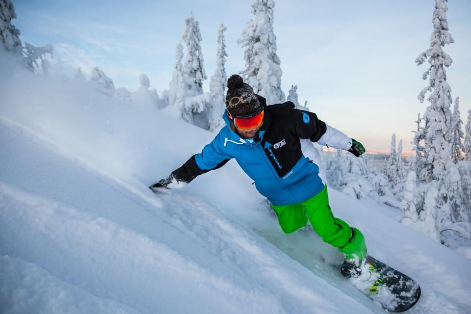 Snowboard (Steg 1)