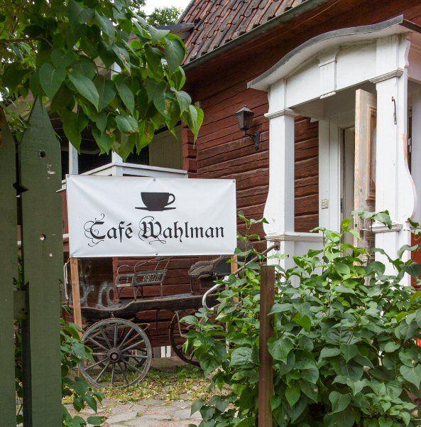 Peter Persson, Klassisk Afternoon Tea på Café Wahlman-UTSÅLT