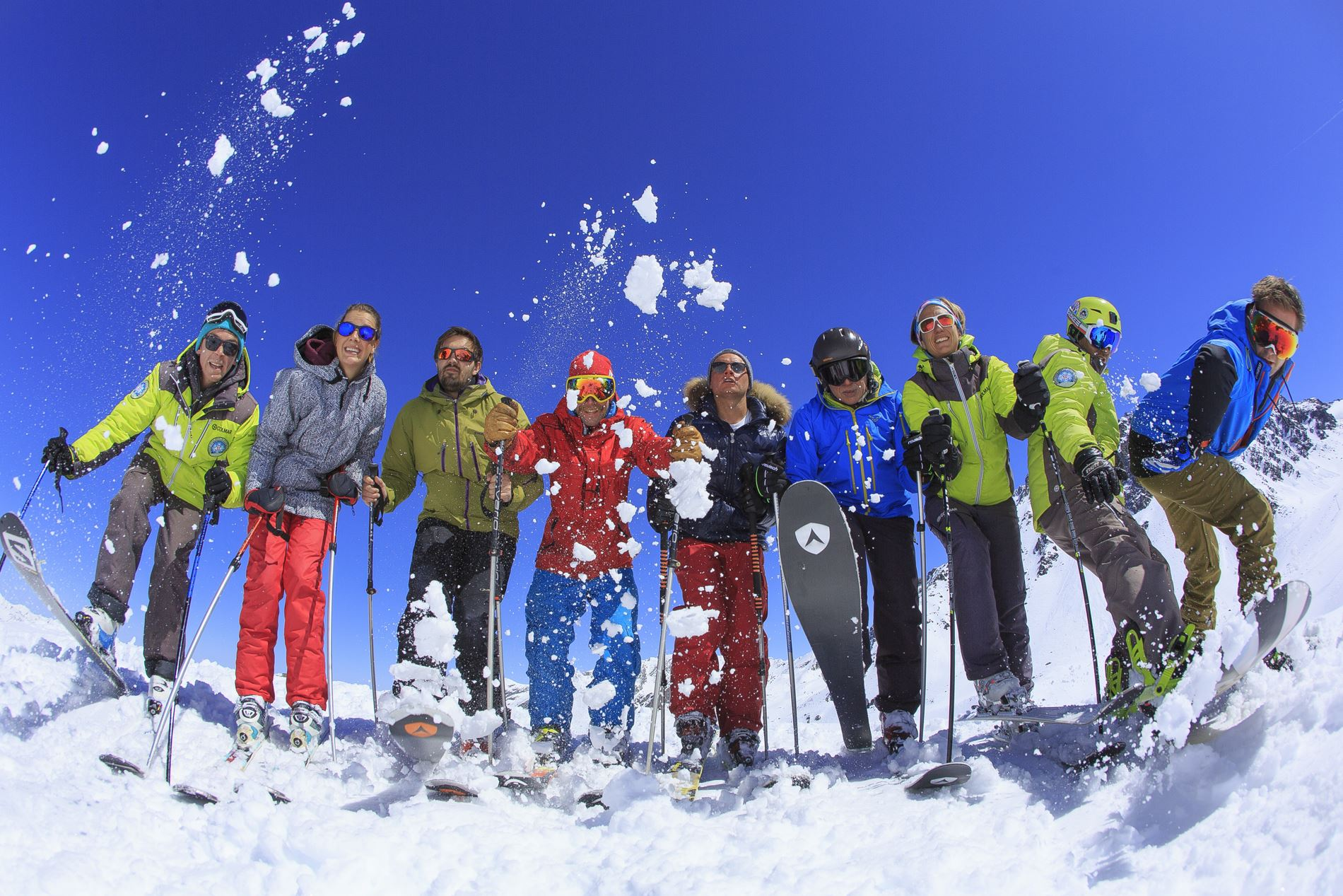 Group Ski Lessons for adults, 6 mornings