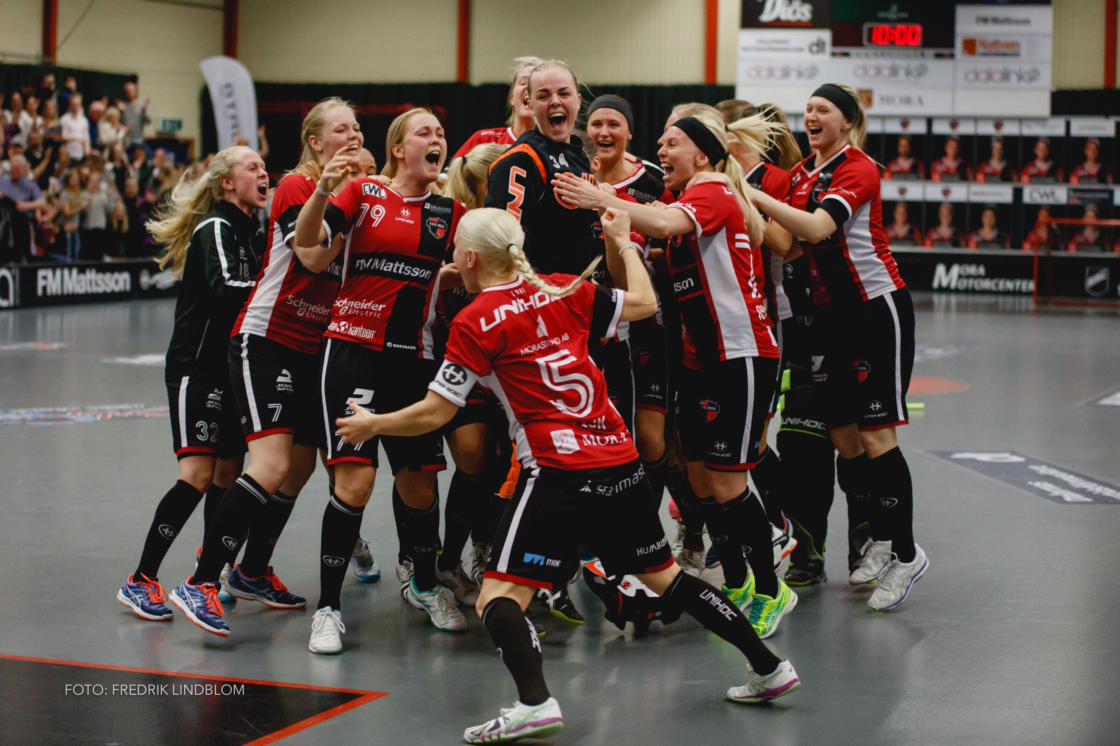 Floorball ladies KAIS Mora - Täby