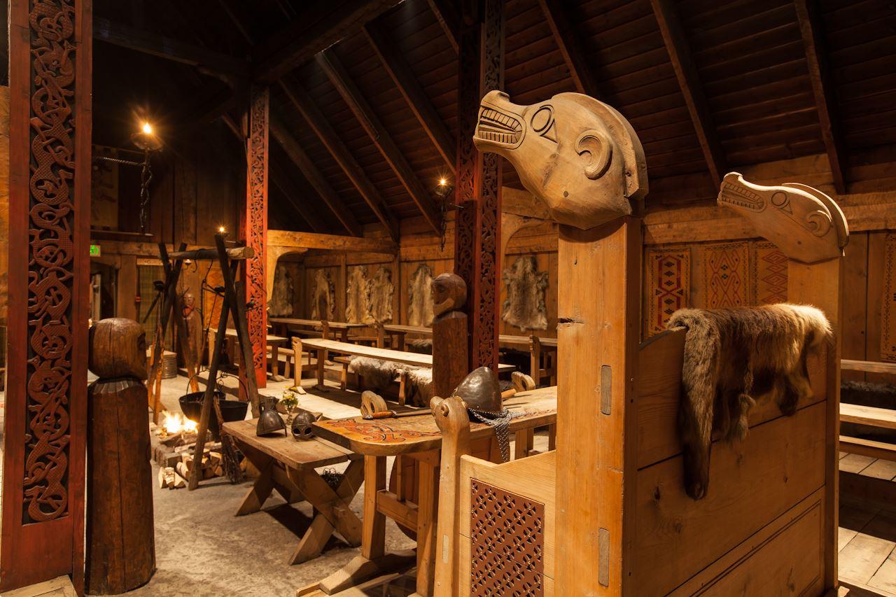 © Kjell Ove Storvik/Lofotr Vikingmuseum, Juleverksted på Lofotr Vikingmuseum 2.desember 2017