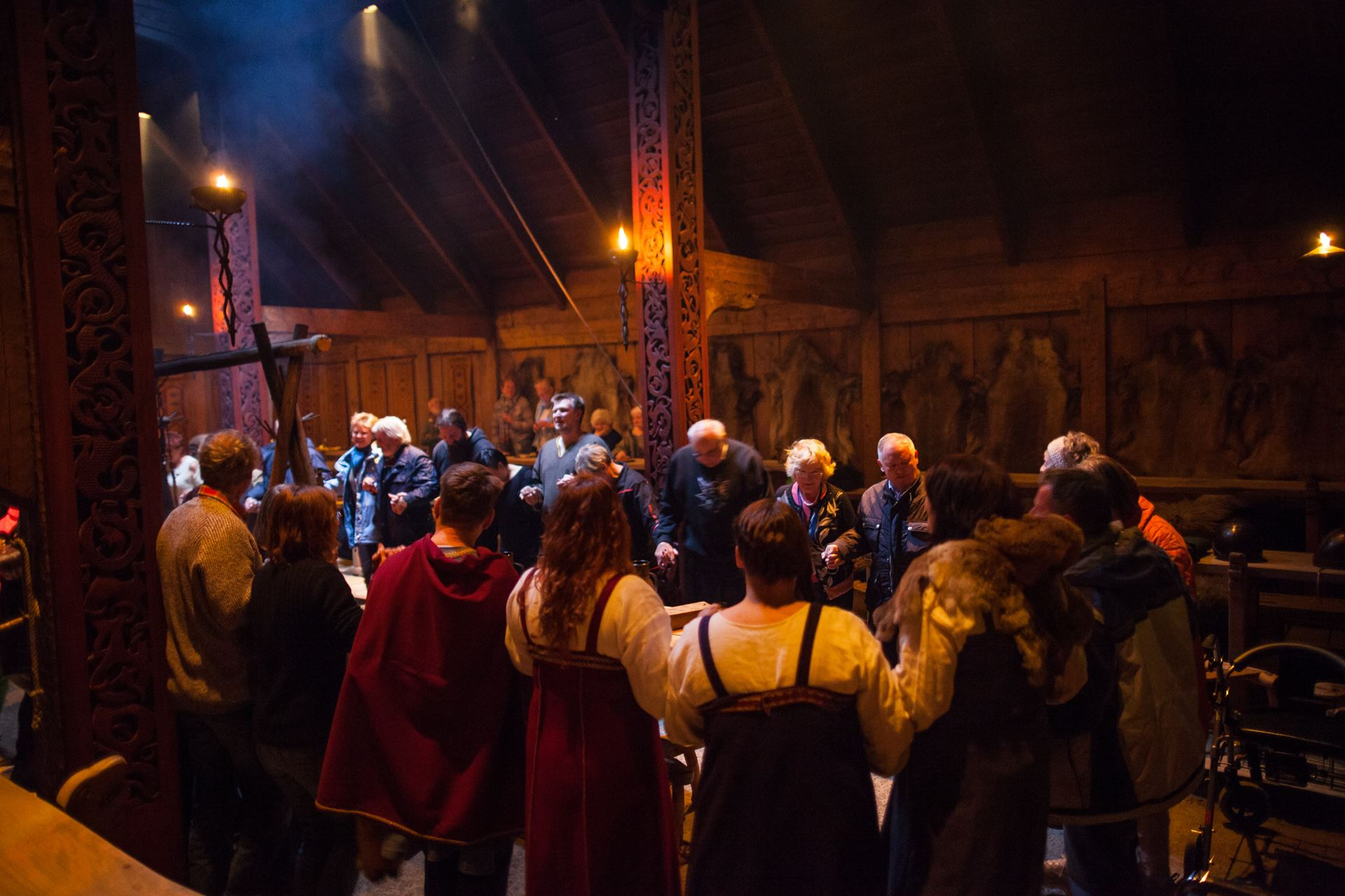 © Kjell Ove Storvik/Lofotr Vikingmuseum, Join us for a Viking feast