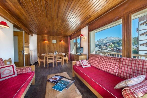 3 rooms 5 people ski-in ski-out / FORET DU PRAZ 616 (mountain of charm)