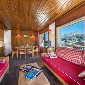 3 rooms 5 people ski-in ski-out / FORET DU PRAZ 616 (mountain) / Tranquillity Booking
