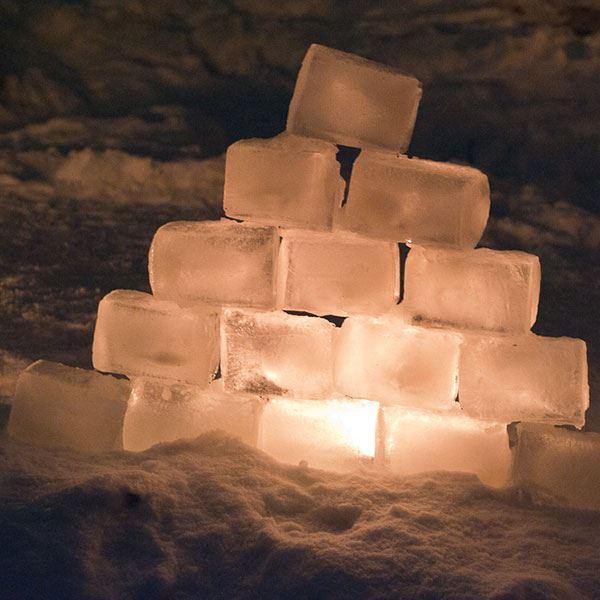 Jul på Folkan i Tärnaby