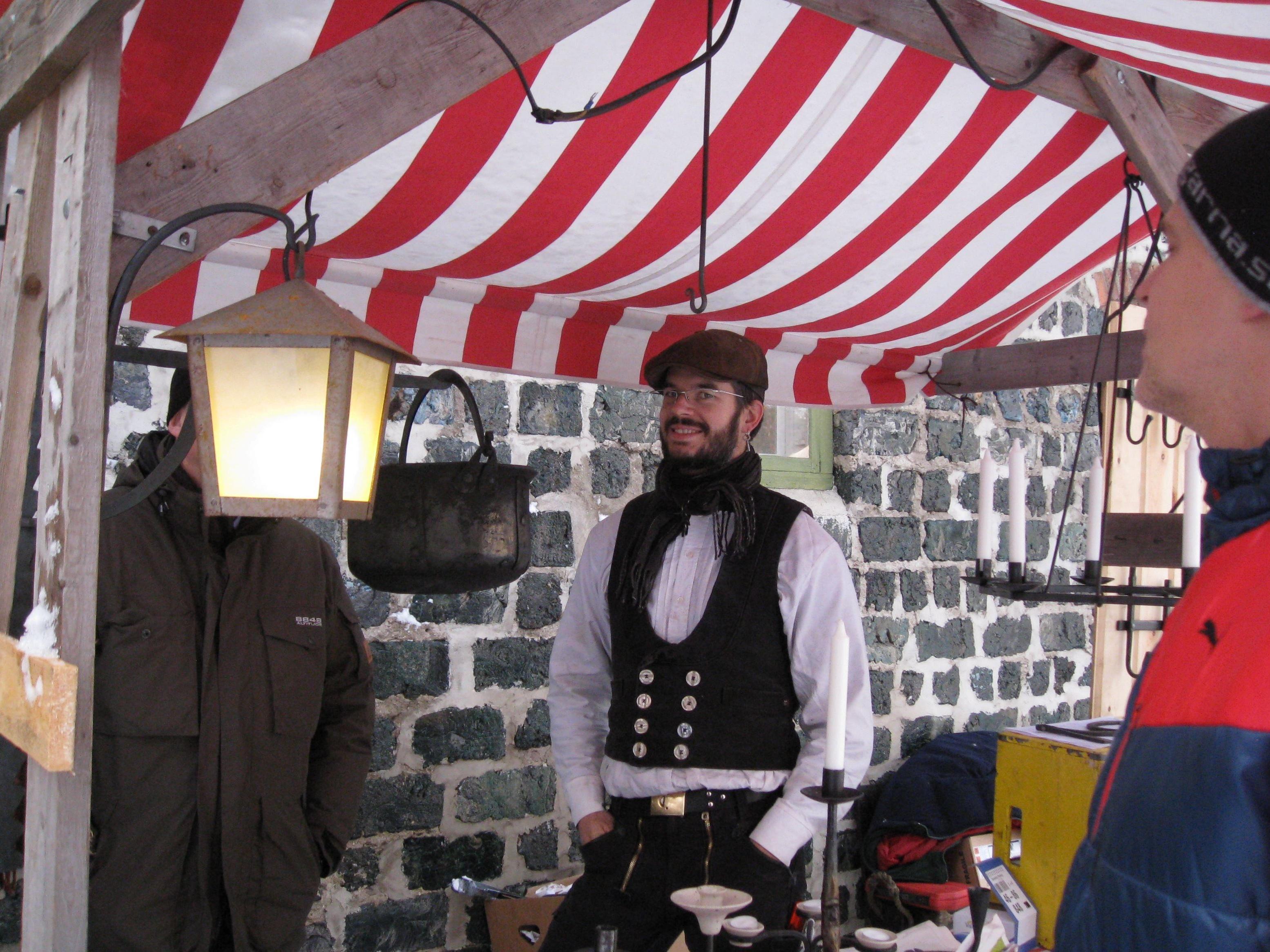 Julmarknad Olofsfors bruk
