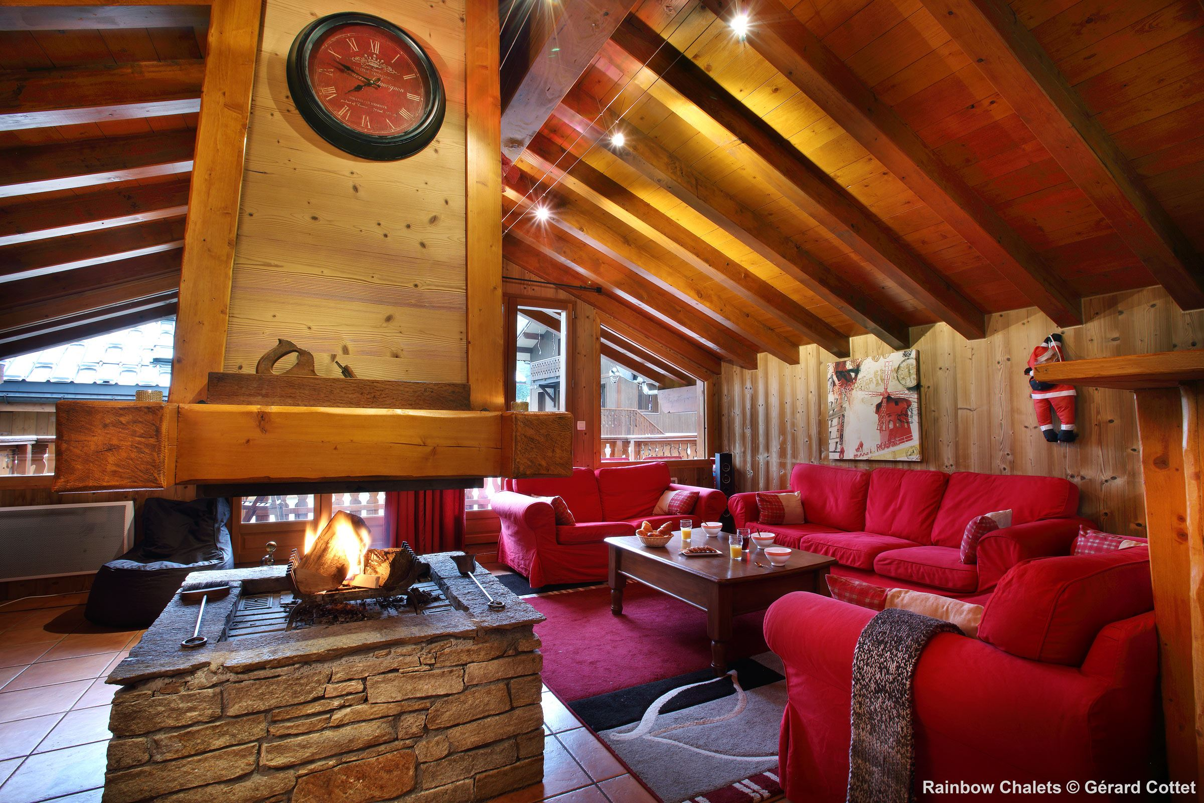 Chalet 9 rooms 16 Pers / CHALET RED